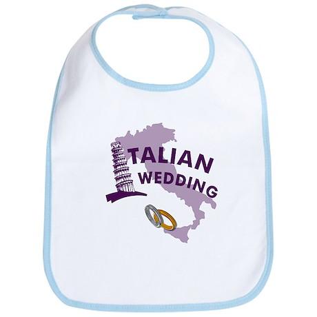 Italian Wedding Bib
