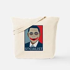 Anti-Obama Joker Socialist Tote Bag