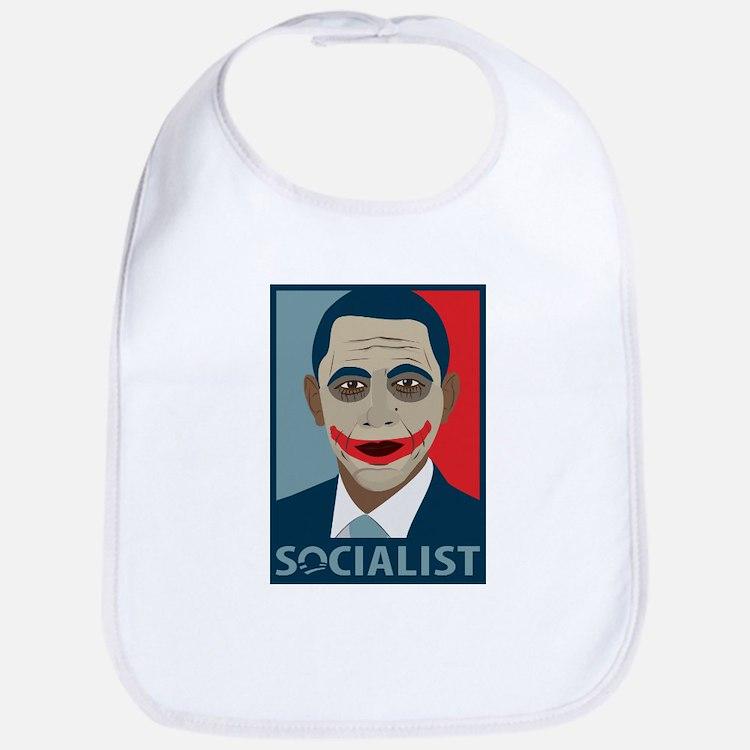 Anti-Obama Joker Socialist Bib