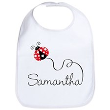 Ladybug Samantha Bib