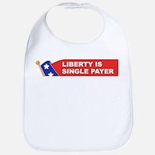 liberty is single payer Bib