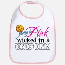 Pretty In Pink Basketball Bib