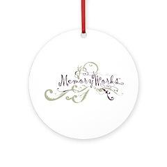 MemoryWorks Flourish Ornament (Round)