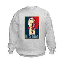 Bill Clinton Big Dog Pop Art Sweatshirt