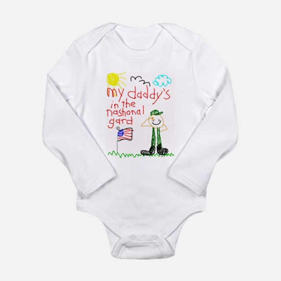 National Guard Daddy Infant Creeper Body Suit