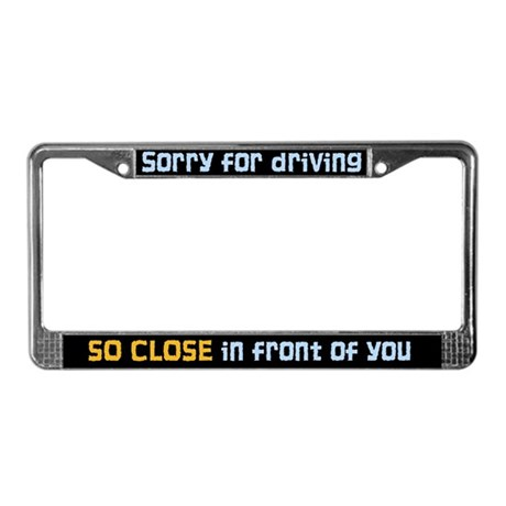 Funny License Plate Frames