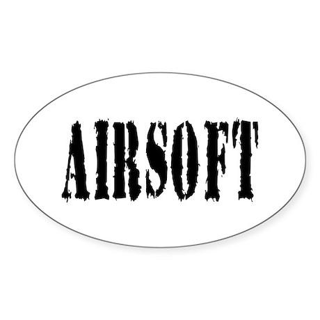 Airsoft Oval Sticker