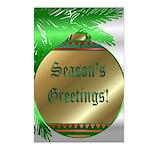 Season's Greetings Postcards (Package of 8)
