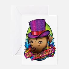 Sir Pootsalot Greeting Card