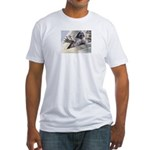 Raccoon! Fitted T-Shirt