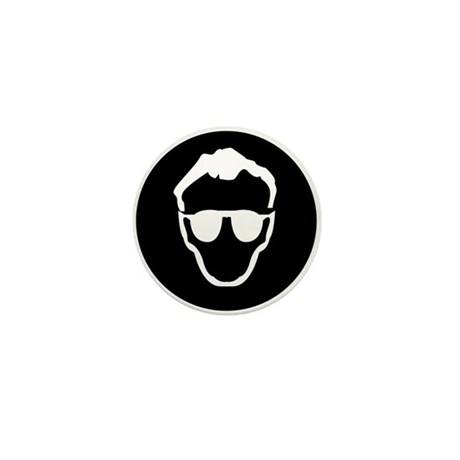 Dr.Who - black Mini Button (10 pack)