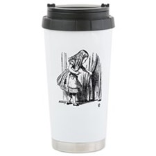 Unique Black and white Travel Mug