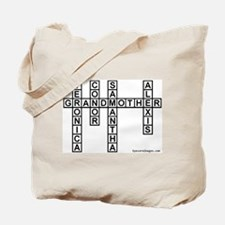 CANTOR CROSSWORD/SCRABBLE Tote Bag