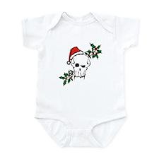 Santa Skull Infant Creeper