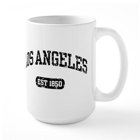 Los Angeles Est 1850 Large Mug