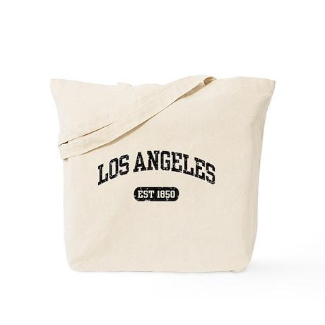 Los Angeles Est 1850 Tote Bag