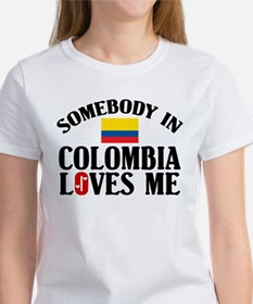Somebody In Colombia Tee