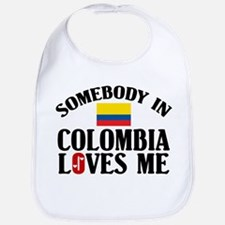 Somebody In Colombia Bib