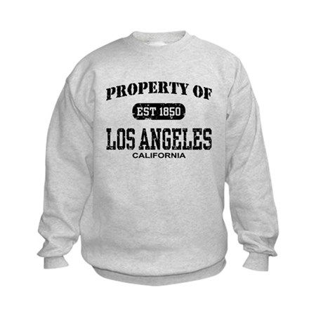 Property of Los Angeles Kids Sweatshirt