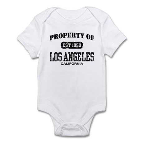 Property of Los Angeles Infant Bodysuit