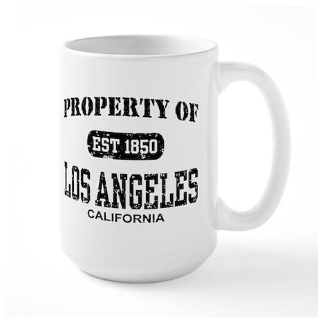 Property of Los Angeles Large Mug