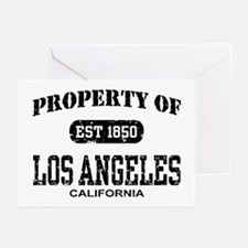 Property of Los Angeles Greeting Cards (Pk of 10)