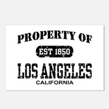 Property of Los Angeles Postcards (Package of 8)