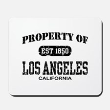Property of Los Angeles Mousepad