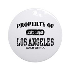 Property of Los Angeles Ornament (Round)