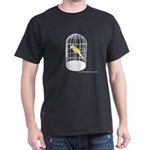 caged bird Dark T-Shirt