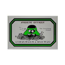 Hygiene Officer (G) Rectangle Magnet