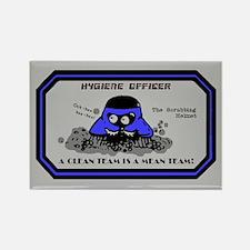 Hygiene Officer (B) Rectangle Magnet