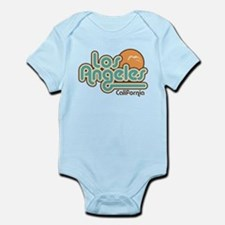 Los Angeles California Infant Bodysuit