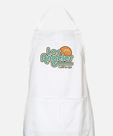 Los Angeles California BBQ Apron