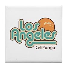 Los Angeles California Tile Coaster