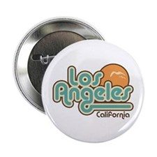 "Los Angeles California 2.25"" Button"