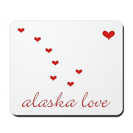 Alaska Love Mousepad