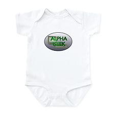 Alpha Geek Infant Bodysuit
