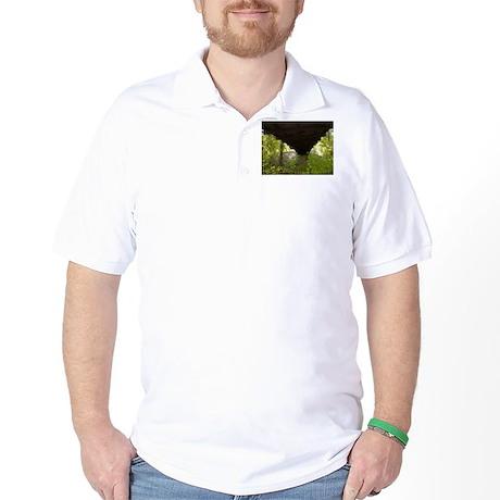 under A bridge Golf Shirt