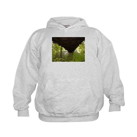 under A bridge Kids Hoodie