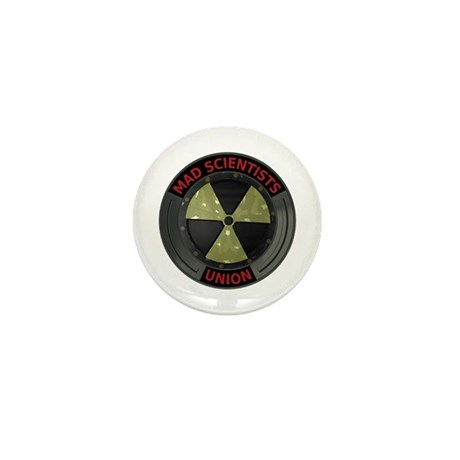 Mad Scientist Union Radioacti Mini Button (100 pac