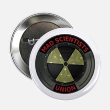 "Mad Scientist Union Radioacti 2.25"" Button (10 pac"