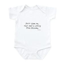 Don't Blame Me...Grandma Infant Bodysuit