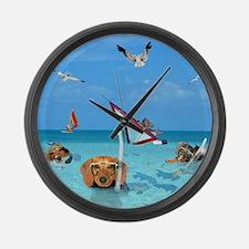 Ocean Large Wall Clock