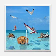 Ocean Tile Coaster