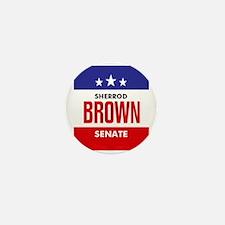 Brown 06 Mini Button