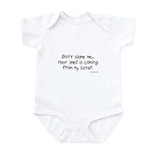 Don't Blame Me...Sister Infant Bodysuit