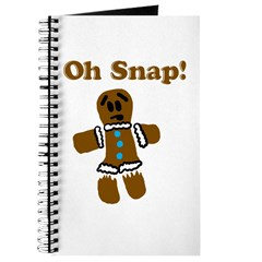 Oh Snap! Gingerbread Man Journal