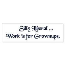 Grownup Bumper Bumper Sticker
