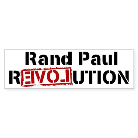 Rand Paul Bumper Sticker